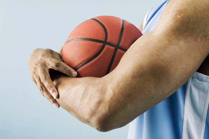 sports massage for pro basketball players