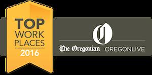 Top Work Places award logo